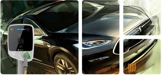 明纬电源为新能源汽车助力—充电站应用