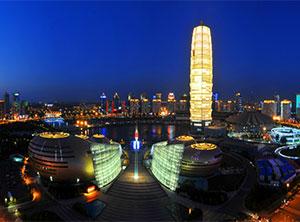 明纬电源点亮郑州市指标性建筑
