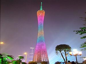 广州白云机场自动人行道及广州电视塔高速电梯应用