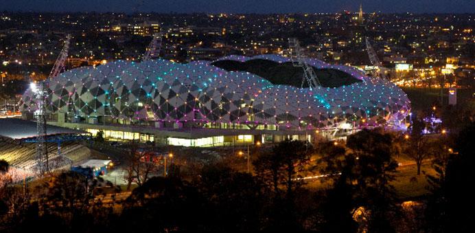 案例分享: 澳洲墨尔本矩形体育场特殊照明